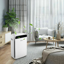 Homdox Air Purifier Office Air Cleaner Hepa Filter Remove Odor Dust Mold Home