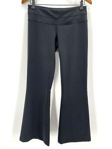 Lucy Hatha Pant Black Bootcut Stretch New Size Medium Short