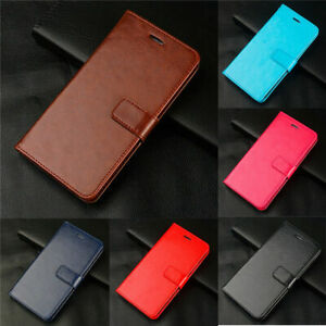 For iPhone 12 11 Pro Max XS XR X 8 7 6 Plus Leather Wallet Card Flip Case Cover