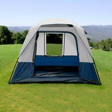 4 Person Family Camping Tent Fishing Hiking Waterproof 190T Polyester PU3000mm