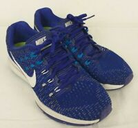 NIKE AIR ZOOM STRUCTURE 19 BLUE LIGHTWEIGHT RUNNING TRAINERS SIZE 7.5 UK MENS