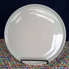 "Fiestaware White 12"" Pizza Tray - Fiesta HLC Baking Serving Tray Cookie Plate"