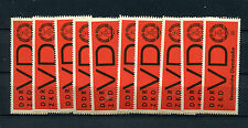 DDR Dienst D - 50 mal Nr. 3x  postfrisch **   (DK5)