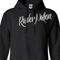 Raider Nation Over Flow HOODIE Hooded Raiders Las Vegas Football Sweatshirt