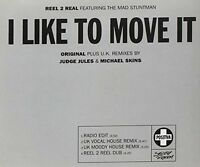 Reel 2 Real I like to move it (1993) [Maxi-CD]