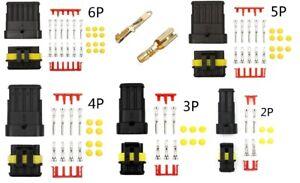 Car Auto Connectors Crimps Terminals & Electrical Wire Kits