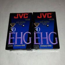 6 JVC VHS-C Videocámara Video Cassettes De Cintas-Nuevo