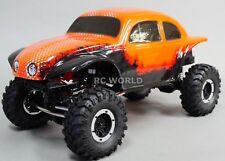 1/10 Rc Rock Crawler Baja VW Beetle Insecte 4x4 Camion 1.9 Rtr Orange