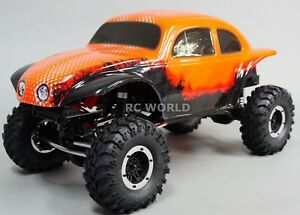 1/10 RC Rock Crawler BAJA VW BEETLE BUG 4X4 Truck 1.9  *RTR* Orange