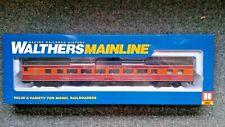 Walthers HO Scale 85' Budd Southern Pacific Daylight Large Window Coach NIB