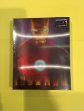 Iron Man Blufans Blu-ray Steelbook lenticular OOP RARE Sealed