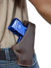New Barsony Brown Leather Pancake Gun Holster Kel-Tec Kimber Sccy Comp 9mm 40 45
