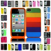 For Iphone 4 4GS 4G 4S Cover Case + LCD Screen Protector