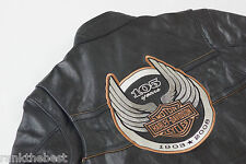 Harley Davidson Men's 105th Anniversary Black Leather Jacket XL 97105-08VM Rare