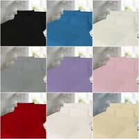 Thermal Flannelette Flat Bed Sheet Single King Double All Sizes Brushed Cotton