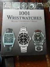 1001 orologi da polso. LIBRO COPERTINA FOTO Patek Philippe, Rolex, Breitling. Heuer, ecc.