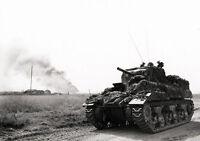 8x6 Gloss Photo ww2A5 Normandy Calvados Cintheaux 1944