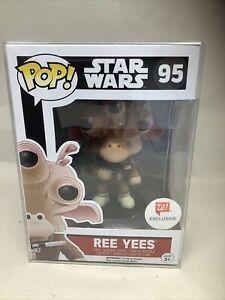 Funko POP! Walgreens exclusive RARE Ree Yees #95 Figure Star Wars