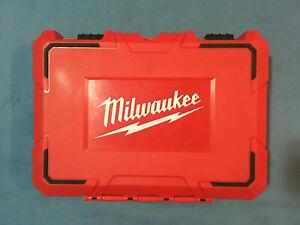 NEW Milwaukee 49-12-KITC EXACT™ #6 – 750 MCM Copper 12T U Style Crimper Die Kit