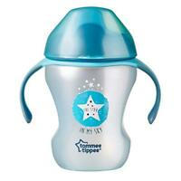Tommee Tippee Trainer Sippee Cup 7 Months, Blue Colours May Vary