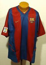 vintage men's FC BARCELONA jersey NIKE size XL