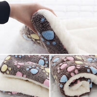 Cute Pet Dog Cat Warm Blanket Puppy Soft Plush  Sleep Bed Mat Acces Supplies