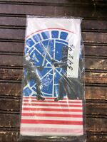 "Vintage Star Wars Return of the Jedi Tablecloth 54"" x 96"" New in Package 1983"