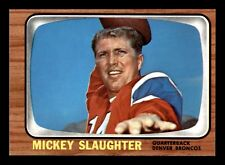 MICKEY SLAUGHTER 1966 TOPPS 1966 NO 43 NRMINT+  20404