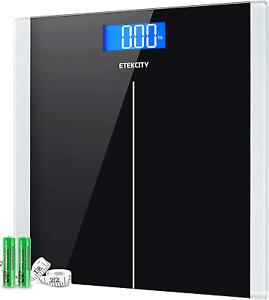 Etekcity Digital Body Weight Bathroom Scale with Step-On Technology 400 Lb