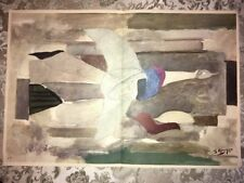 George Braque, Flying Bird, Original Mourlot Lithograph 1955