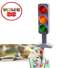"Dazzling Toys Traffic Light Signal Kids 7"" Large Randomly Blinking Flashing Lamp"