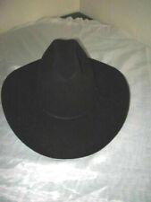 Resistol Men's Cowboy Hat Black Hill Country 4X Fur Felt George Strait 7 1/4