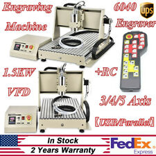 Usbparallel345 Axis 1500w Cnc 6040 Router Engraver Millingdrilling Machine