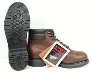 Red Wings SUPERSOLE Men's 6-inch Safety Men's Boots US8 E3 UK7 EU41 RRP $199.99