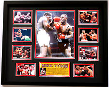 New Mike Tyson Signed Limited Edition Memorabilia Framed