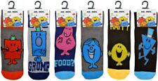 1 X MR MEN SOCKS OFFICIAL MR PERFECT SIZE UK 6-11 GREAT STOCKING FILLERS