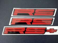 82-92  Chevrolet Camaro - RS  Emblem New Set x 3