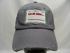ASK ME ABOUT... ____OREGON LOTTERY  - ADJUSTABLE STRAPBACK BALL CAP HAT!