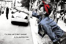 RIHANNA 24X36 POSTER WALL ART DECOR POPSTAR POP ARTIST HIPHOP WOMAN GIRLFRIEND!!