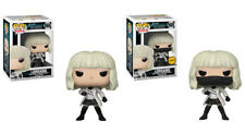Funko Pop! Movies Atomic Blonde Lorraine #565 Set of 2 with CHASE & Protector