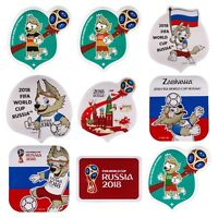 Magnets mascot Zabivaka. FIFA World Cup Russia 2018
