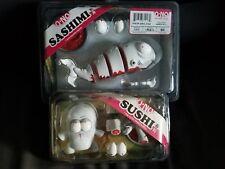 Andrew Bell O-NO SUSHI O-NO SASHiMI Set Vinyl dead zebra Rivet Ex Kidrobot