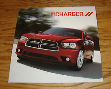 Original 2012 Dodge Charger Deluxe Sales Brochure 12 SE SXT R/T SRT8