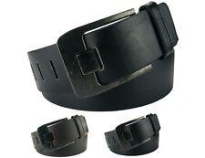 Echt Herrengürtel Jeansgürtel Damengürtel schwarz braun breit 4,5 cm HRG48