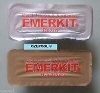 Emerkit 150g Epoxy Putty  Swimming Pool and Spa Underwater Repair Kit, Tiles