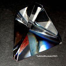 NEW in BOX STEUBEN glass LARGEST TRIGON PAPERWEIGHT prism ornamental star magnum