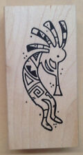 Wood Mounted Rubber Stamps, Southwestern, Southwest Stamps, Kokopelli Stamps