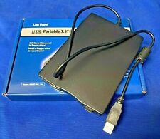 Portable 3.5 Inch USB 2.0 External Floppy Disk Drive 1.44Mb Reader FDD PC Laptop