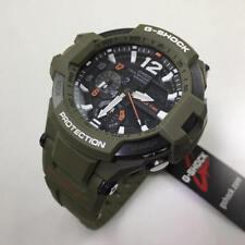 Casio G-Shock Mens Aviation Gravitymaster Twin Sensor Ana-Di Watch GA1100KH-3A