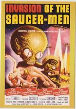 CLASSIC VINTAGE SCI-FI MOVIE POSTER COLLECTOR CARD INVASION OF THE SAUCER-MEN P2